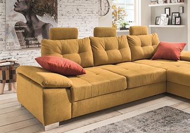 Robin Hood Möbel und Küchen - unsere große Auswahl an guten und günstigen Polstergarnituren, Wohnlandschaften und Sofas