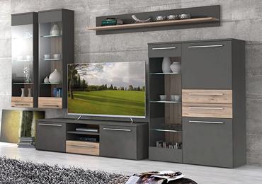 Robin Hood Möbel und Küchen - unsere große Auswahl an guten und günstigen Wohnwänden, TV-Möbeln, Vitrinen und TV-Tischen