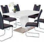 1A Tischgruppe Speisezimmer Esstisch mit Schwingstühlen günstig kaufen bei Robin Hood Möbel & Küchen in DonaueschingenEsstisch mit Schwingstühlen günstig kaufen bei Robin Hood Möbel & Küchen in Donaueschingen