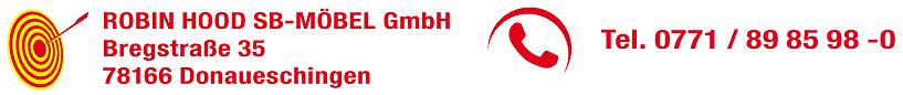 Robin Hood Möbel + Küchen - der Retter der kleinen Preise in 78166 Donaueschingen